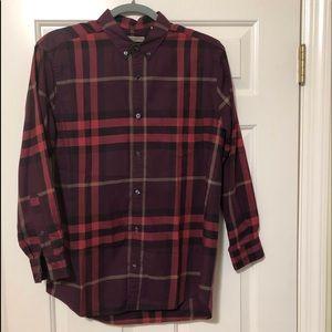 Burberry Brit designer nova check shirt M